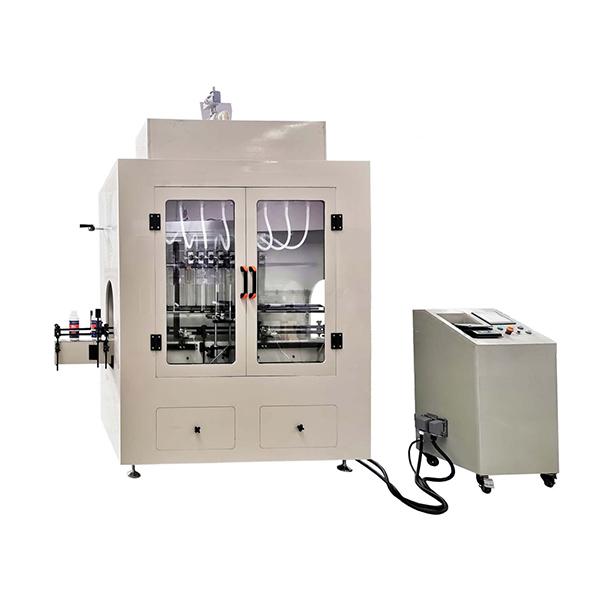 Mašina za punjenje korozivnih tečnih sredstava linearnog tipa
