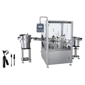 Automatska mašina za punjenje i začepljivanje maskara