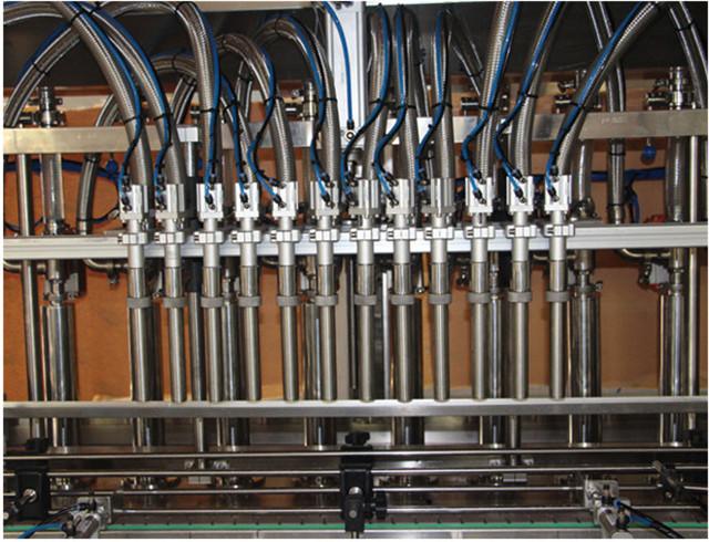 Detalji mašine za punjenje klipa